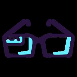 Icono de gafas de realidad aumentada.
