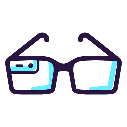 Icono de gafas de realidad aumentada. Transparent PNG