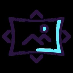 Icono de imagen de realidad aumentada