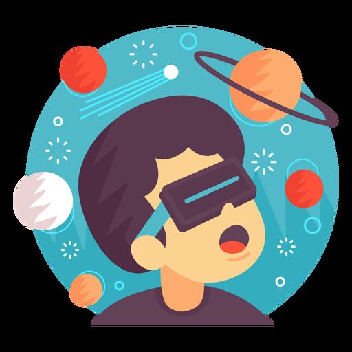 Ilustración del espacio de realidad aumentada. Transparent PNG