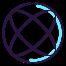 Ícone de esfera de realidade aumentada