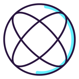 Icono de esfera de realidad aumentada