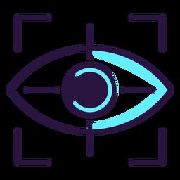 Ícone de viseira de realidade aumentada