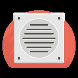 Icono de ventilador de baño