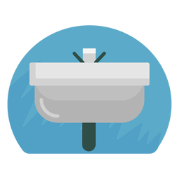 Bathroom sink icon