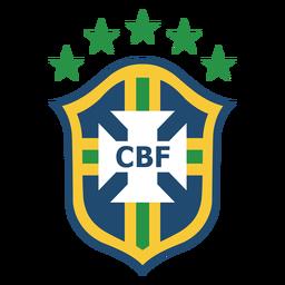 Brasilianisches Fußball-Team-Logo