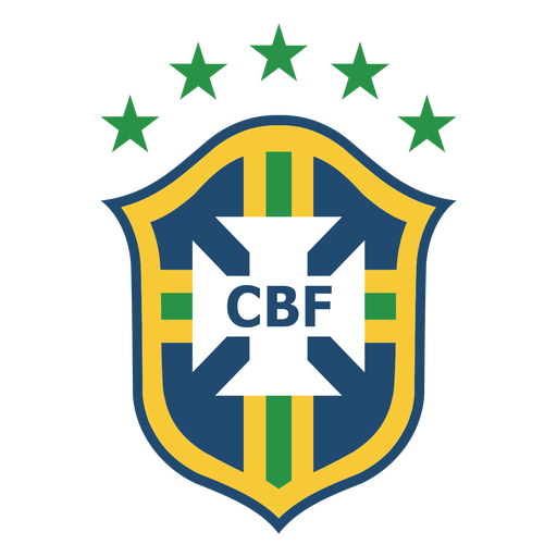 Brazil football team logo Transparent PNG