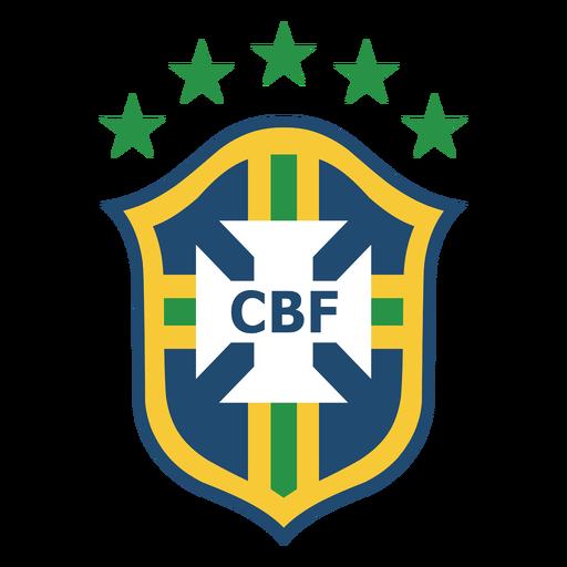 Logo del equipo de futbol de Brasil Transparent PNG