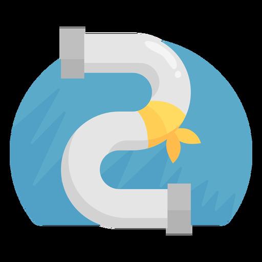 Burst pipe repair icon Transparent PNG