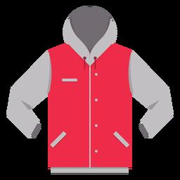 Icono de botón con capucha