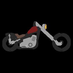 Chopper-Motorrad-Symbol
