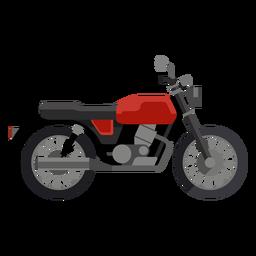 Ícono de motocicleta clásica