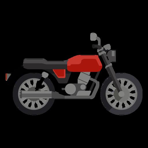 Ícone clássico da motocicleta Transparent PNG