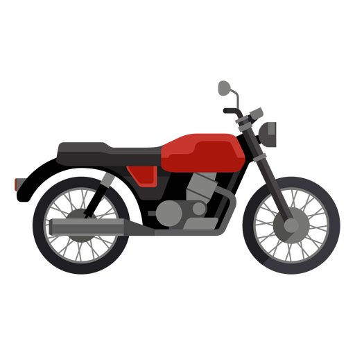 Classic motorcycle icon Transparent PNG