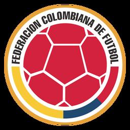 Logotipo da equipe de futebol da Colômbia