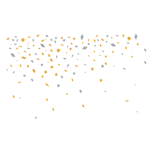 Fondo de ilustración de confeti Transparent PNG
