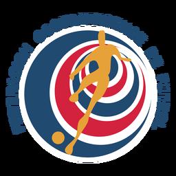 Logotipo da equipe de futebol Costa Rica
