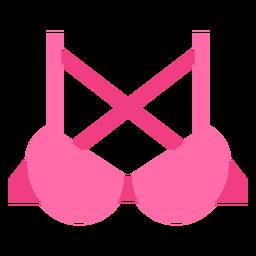Crossback push up bra icon
