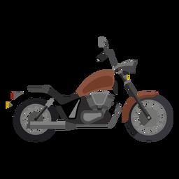 Icono de motocicleta crucero
