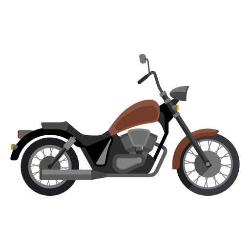 Icono de motocicleta crucero Transparent PNG
