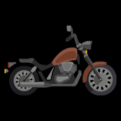 Icono de motocicleta de crucero Transparent PNG