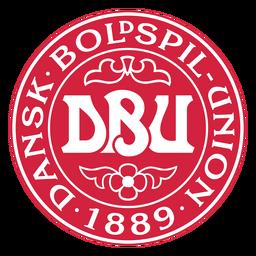 Logotipo da equipe de futebol da Dinamarca