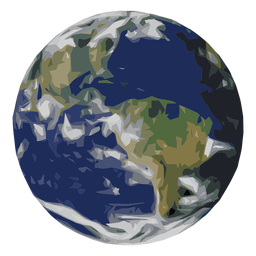 Earth planet icon