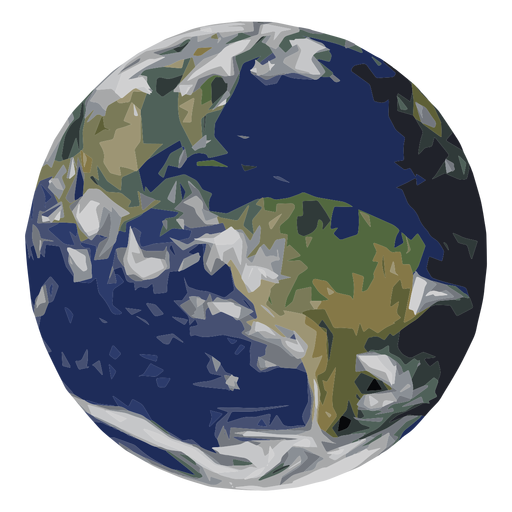 Earth planet icon Transparent PNG