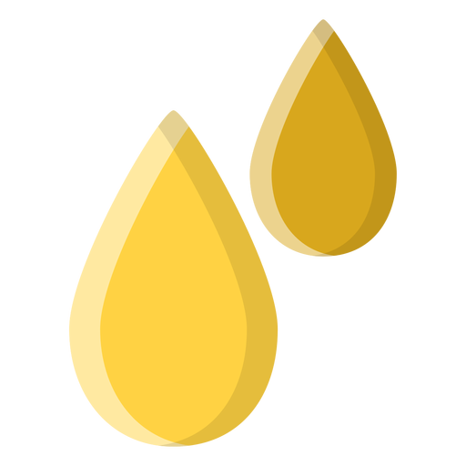 Essential oil drops icon Transparent PNG