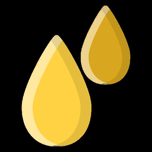 Icono de gotas de aceite esencial Transparent PNG
