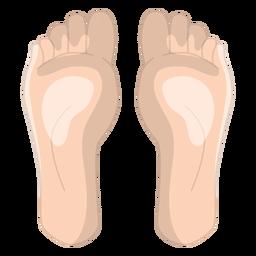 Fußmassage-Symbol