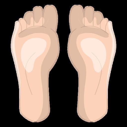 Feet massage icon Transparent PNG