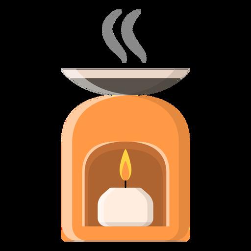 Icono de vela plana Transparent PNG
