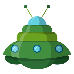 Icono de platillo volador