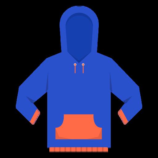 Ícone de capuz bolso frontal Transparent PNG