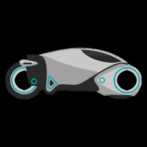 Icono de moto futurista Transparent PNG