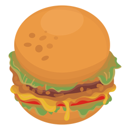 Hamburger icon food