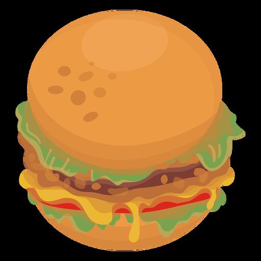 Comida de ícone de hambúrguer Transparent PNG