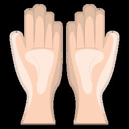 Mão, massagem, ícone