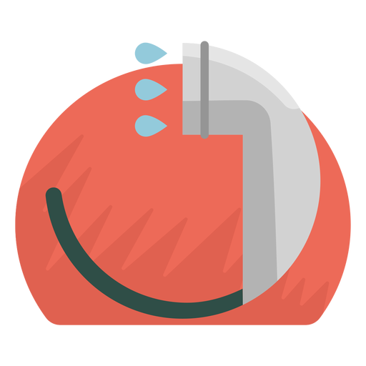 Handheld showerhead icon Transparent PNG