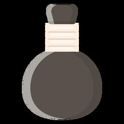 Icono de bola de compresa herbaria