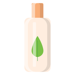 Herbal shampoo icon