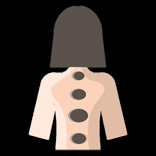 Icono de masaje con piedras calientes