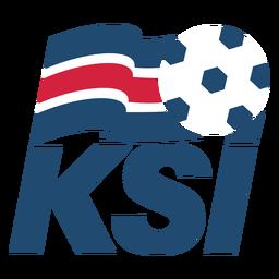 Logotipo del equipo de fútbol de Islandia