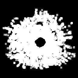 Ilustração de vidro quebrado
