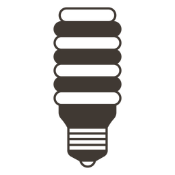 Incandescent light bulb stroke icon