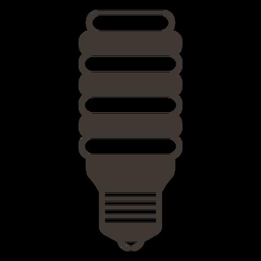 Bombilla incandescente icono de trazo Transparent PNG