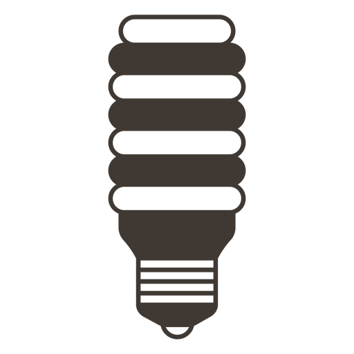 Incandescent light bulb stroke icon