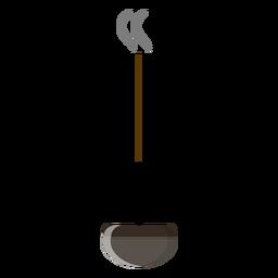 Icono de palo de incienso