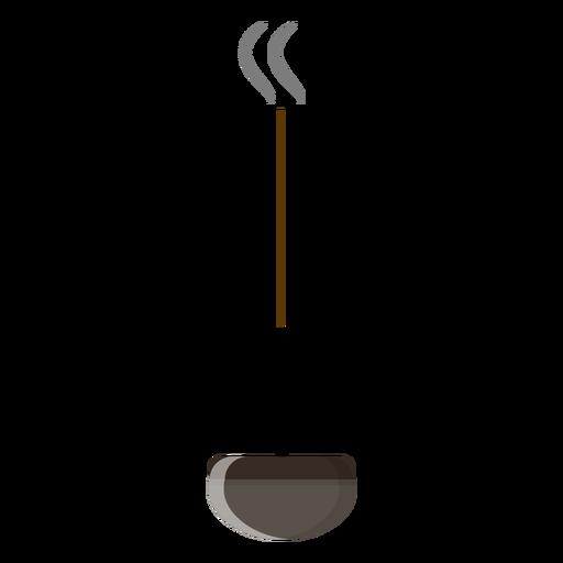 Icono de palo de incienso Transparent PNG